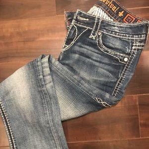 Rock Revival women's jeans. Size 27.